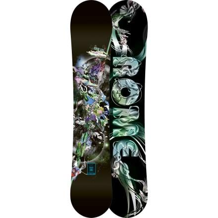 Rome Blue snowboard