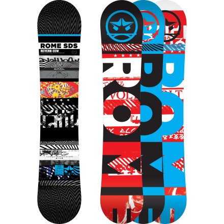 Rome Reverb Snowboard - Wide