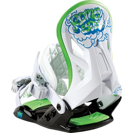 Rome Minishred Snowboard Binding - Kids'