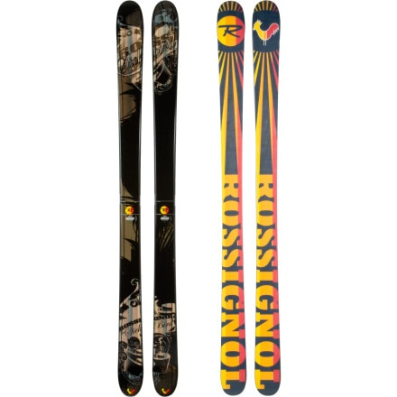 photo: Rossignol Sick Bird alpine touring/telemark ski