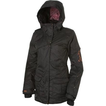 photo: Rossignol Fire Long Denim Jacket snowsport jacket