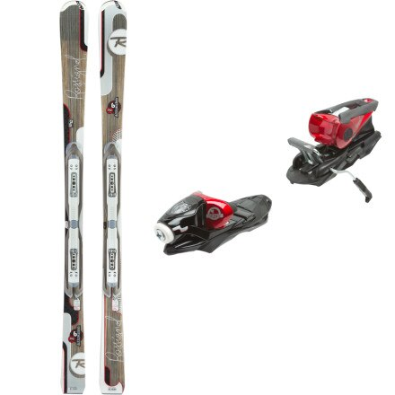 Rossignol Attraxion Echo 6 Ski with WTPI2 Sapphire 110 Binding