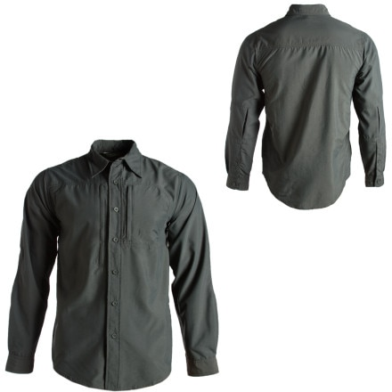 photo: Royal Robbins Release Long Sleeve Shirt hiking shirt