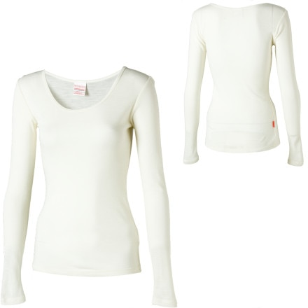 photo: RedRam Women's Merino Top - Long-Sleeve base layer top