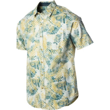 RVCA Fern N Burn Shirt - Short-Sleeve - Men's