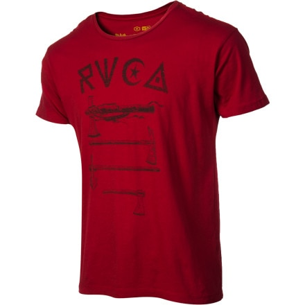RVCA Tomahawks T-Shirt - Short-Sleeve - Men's