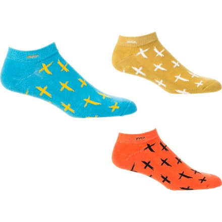 RVCA Cross Your Fingers Socks - Women's