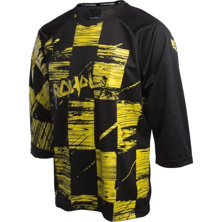 Royal Racing Ride Blasted Check Bike Jersey - 3/4 Sleeve - Men's