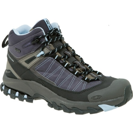 photo: Salomon Women's 3D Fastpacker Mid GTX hiking boot