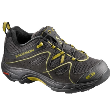 photo: Salomon Boys' Trax Kid trail shoe