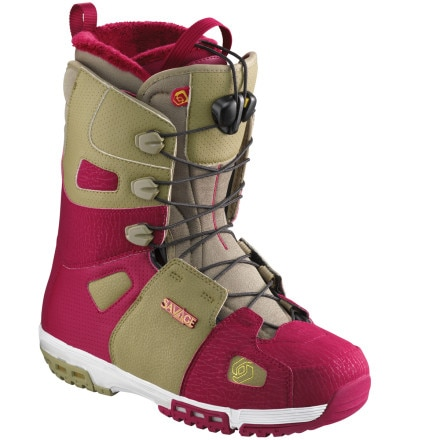 Shop for Salomon Snowboards Savage Lace Snowboard Boot - Men's