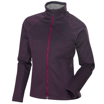 photo: Salomon Women's Helix Midlayer Jacket long sleeve performance top