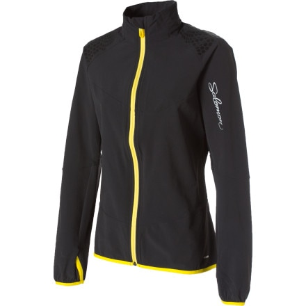 photo: Salomon Women's XA Smartskin soft shell jacket