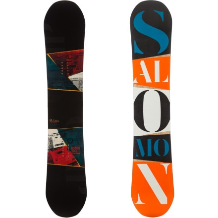 Salomon Snowboards Grip Snowboard - Wide