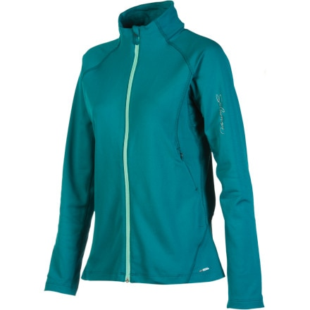 photo: Salomon Women's XA Midlayer long sleeve performance top