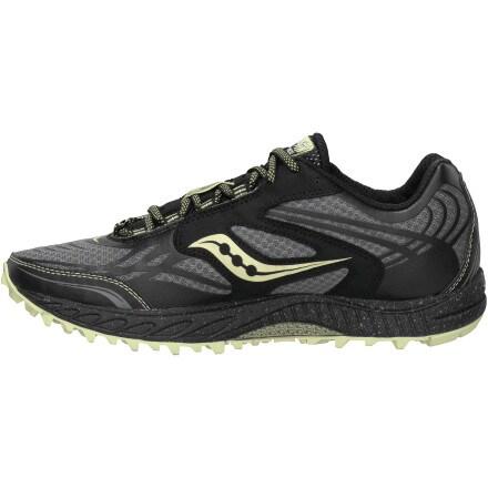 photo: Saucony Women's ProGrid Peregrine 2 trail running shoe