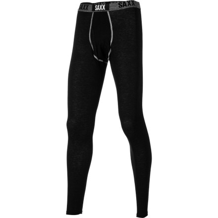 Saxx Black Sheep Long John Bottom with Fly - Men's