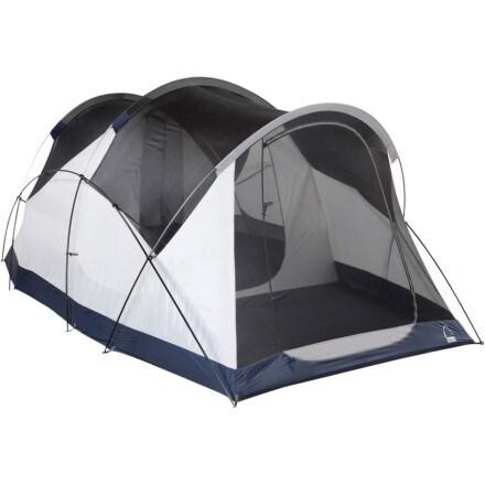 photo: Sierra Designs Wu Hu Annex 4+2 3-4 season convertible tent