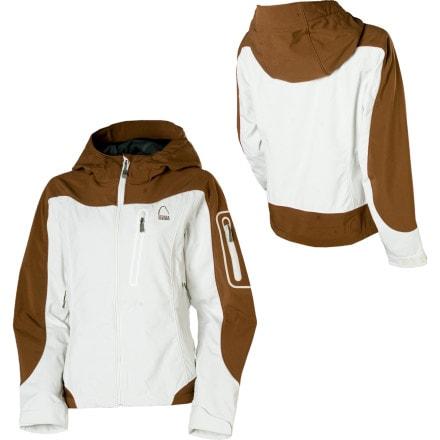 photo: Sierra Designs Women's Lunatic Hoody soft shell jacket