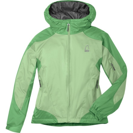photo: Sierra Designs Girls' Toaster Jacket synthetic insulated jacket