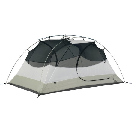Sierra Designs Zia 2 Tent with Footprint and Gear Loft:  2-Person 3-Season
