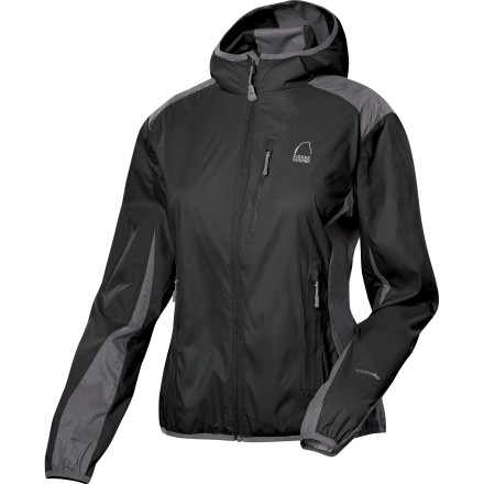 photo: Sierra Designs Women's Knuckle Hoody wind shirt