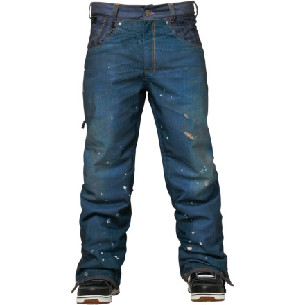 686 Parklan Destructed Denim Insulated Pant - Men's