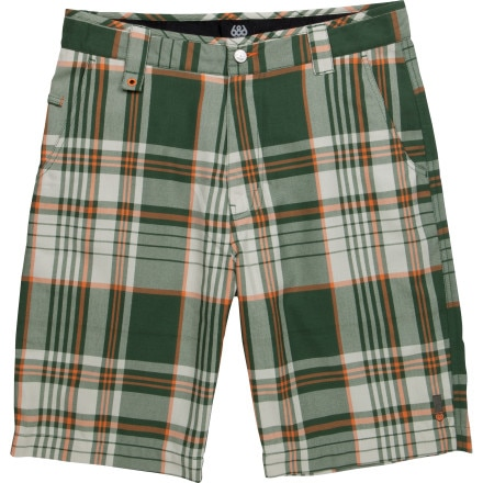 686 Prospect Plaid Short - Men