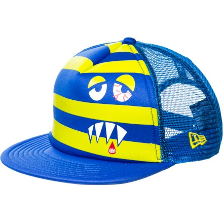 686 Snaggle Stripe Adjustable New Era Trucker Hat