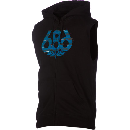 686 Streak Sleeveless Premium Full-Zip Hoodie - Men