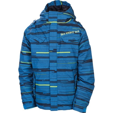 686 Smarty Streak Insulated Jacket - Boys