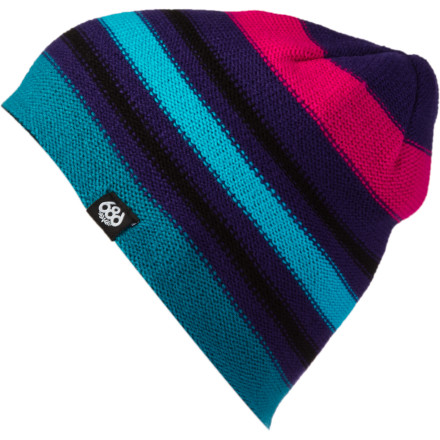 686 Striate Reversible Beanie - Women