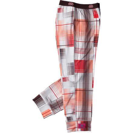 686 Plaid Base Layer Bottom - Women
