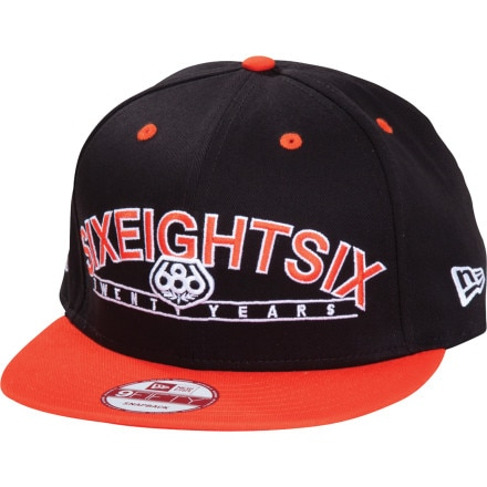 686 Twenty Year Snap Back New Era Hat