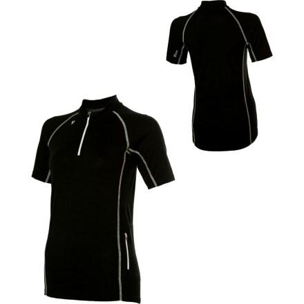 photo: Stoic Women's Merino Bliss Shirt - Short-Sleeve