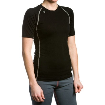 photo: Stoic Women's Merino Crew Shirt - Short-Sleeve short sleeve performance top