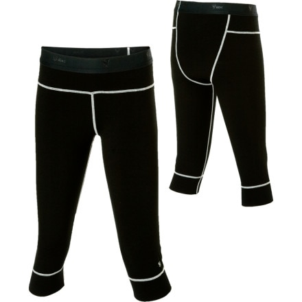 photo: Stoic Women's Merino Bottom - 3/4 Length