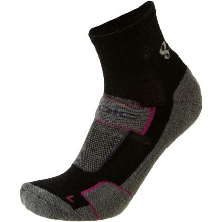 Stoic Merino Comp Trail Crew Sock - 3pr