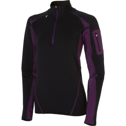 Stoic Breathe Composite Zip T - Women's