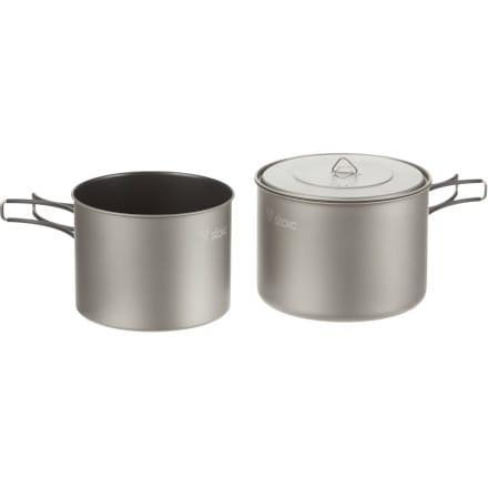 Stoic Ti 1.6L Pot + 1.3L Pot Set