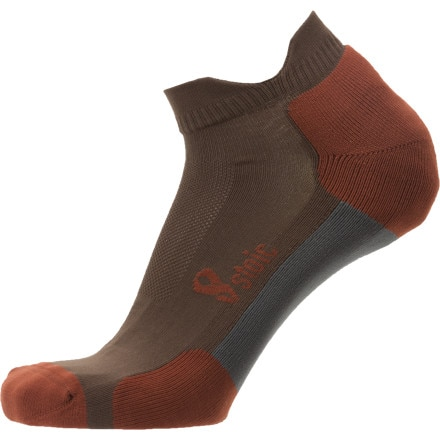 Stoic Synth Trail No-Show Sock - 2-Pack
