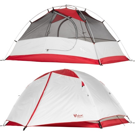 Stoic Templum 2.1 Tent: 2-Person 3-Season with Footprint and Gearloft