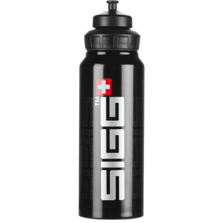 Sigg Wide Mouth Siggnature Water Bottle - 1L