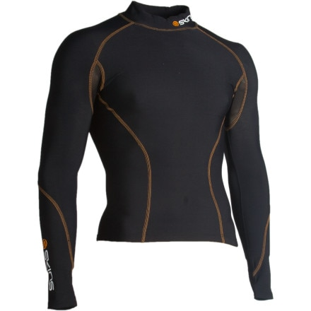photo: Skins Snow Mock Neck Thermal Top long sleeve performance top