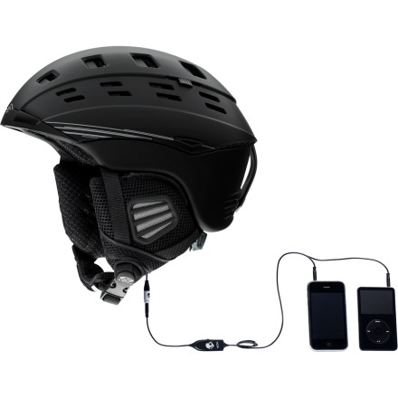 photo: Smith Variant Audio Helmet snowsport helmet
