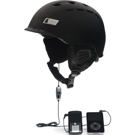photo: Smith Hustle Audio Helmet snowsport helmet