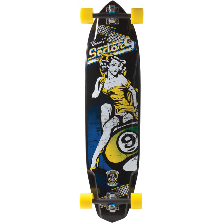 Sector 9 Skateboards Brandy Longboard