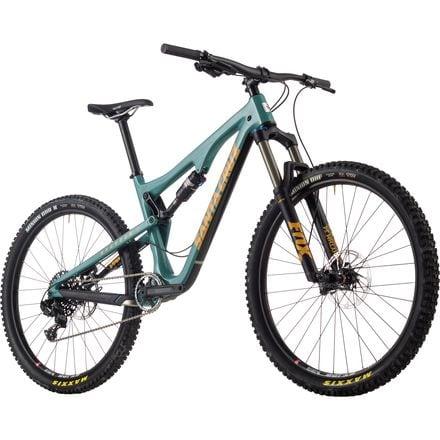 Santa Cruz Bicycles Bronson 2.0 Carbon R1 Complete Mountain Bike - 2017