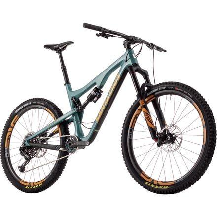 Santa Cruz Bicycles Bronson 2.0 Carbon CC X01 Eagle ENVE Complete Mountain Bike - 2017