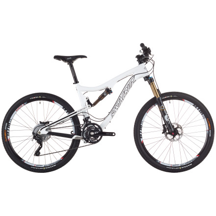 Santa Cruz Bicycles Blur TR Carbon SPX XC Complete Mountain Bike
